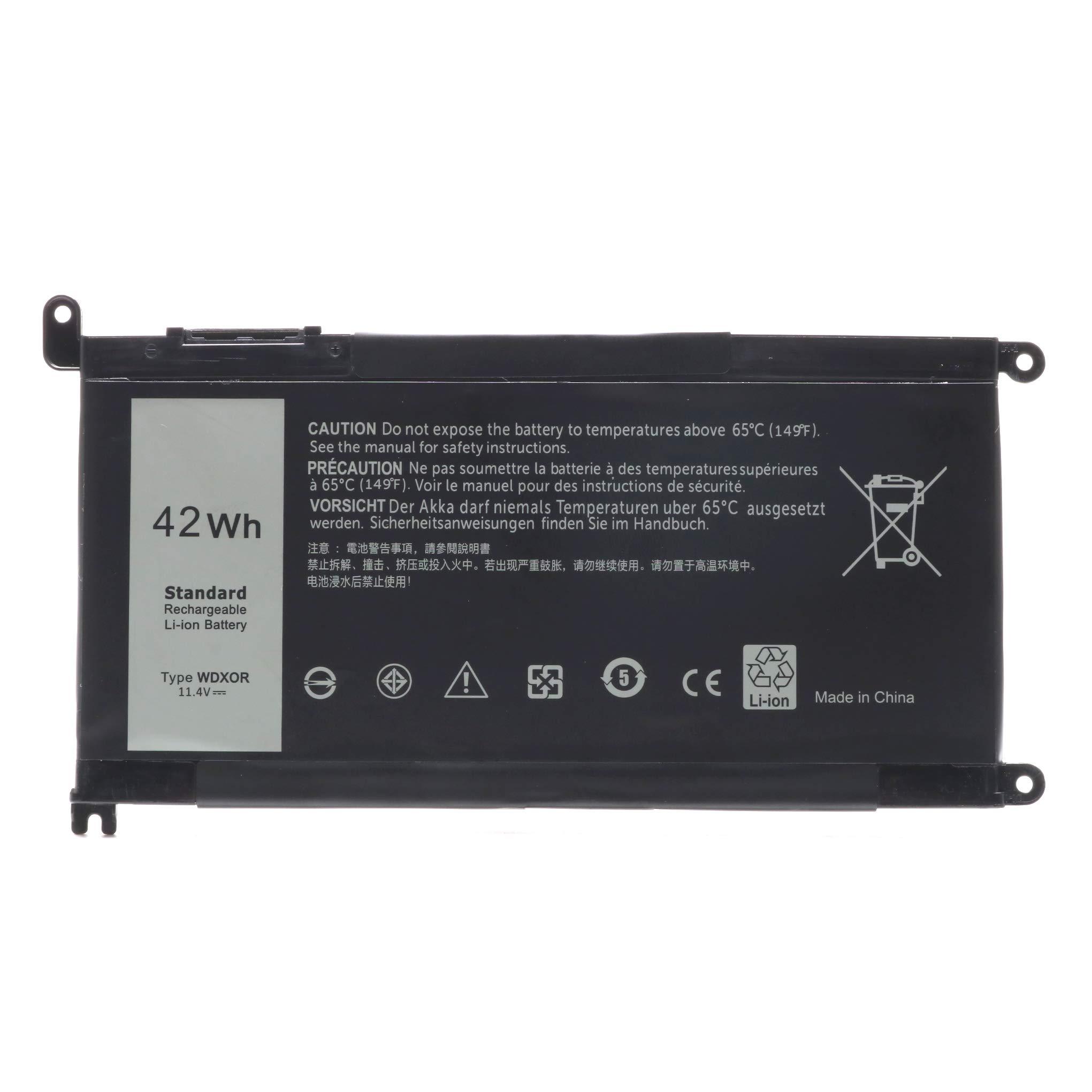 Bateria 42wh Wdxor 11.4v Dell Inspiron 13 7378 13 5000 5378