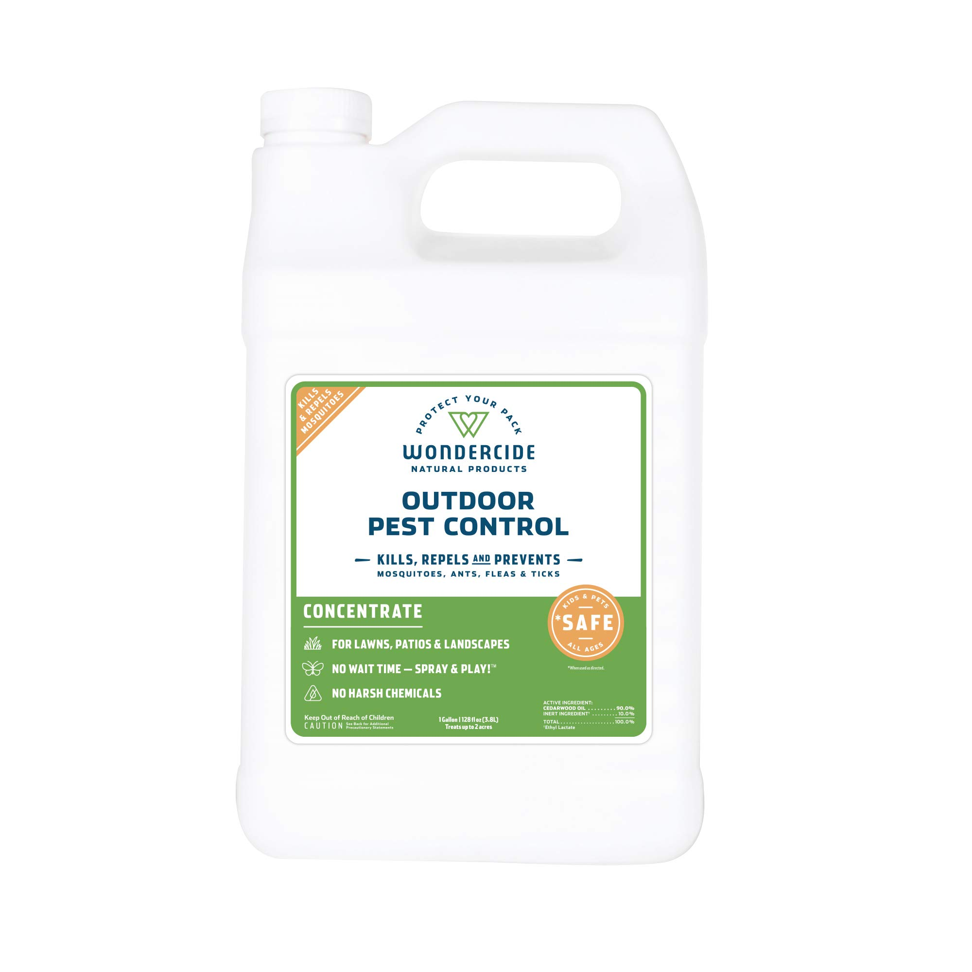 Wondercide EcoTreat - Natural Outdoor Pest Control Concentrate - 1 gal