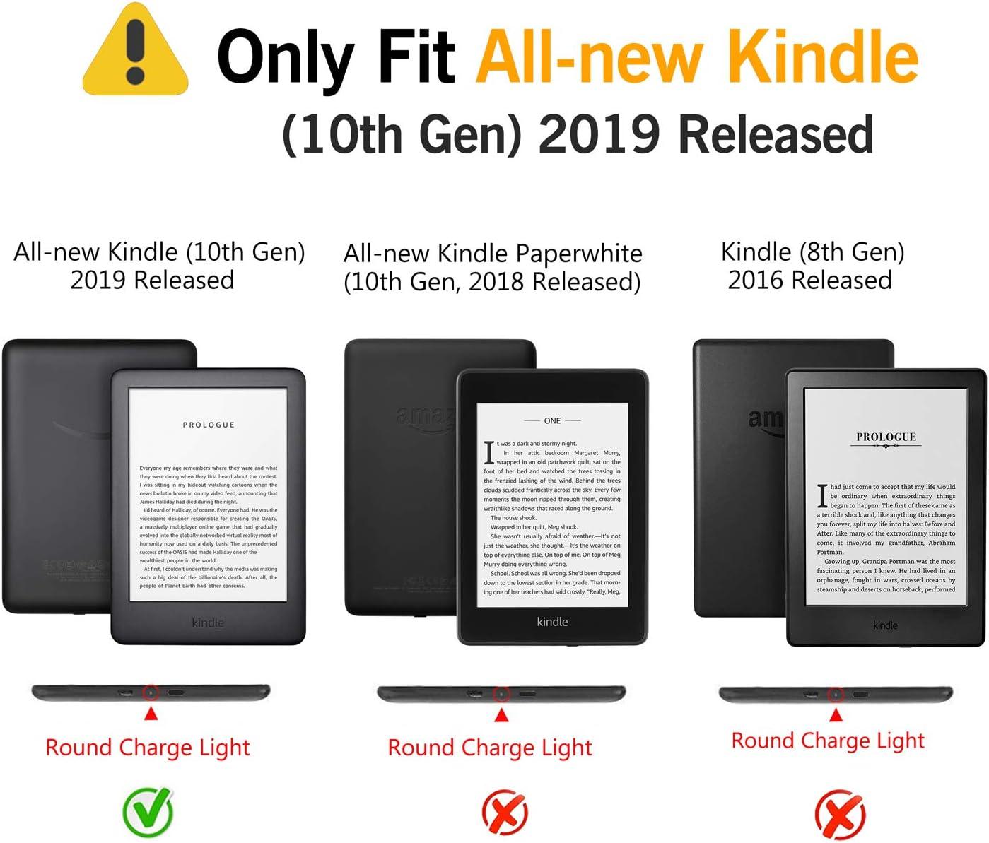 Huasiru Pintura Caso Funda para el Nuevo Kindle (10ª generación ...