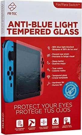 FR-TEC - Switch Cristal Templado con Filtro Luz Azul HEV (Nintendo ...