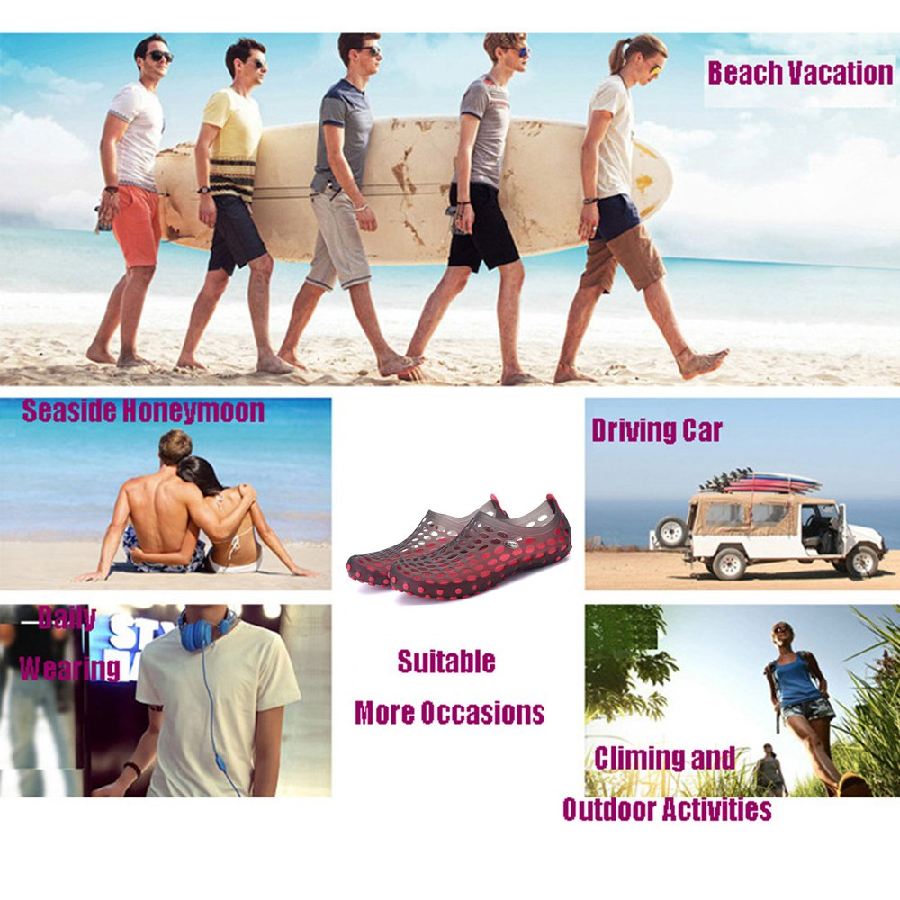 Topprom Mens Womans Summer Sandals Unisex Comfortable Cool Sneakers Fashion Young Couples Shoes