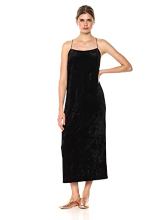 1ec36bc20a9 kensie Women s Crushed Velvet Slip Maxi Dress at Amazon Women s ...