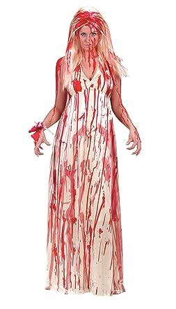 Fun World Womenu0027s Carrie Prom Nightmare Dress Costume Multi Small/Medium  sc 1 st  Amazon.com & Amazon.com: Fun World Womenu0027s Carrie Prom Nightmare Dress Costume ...