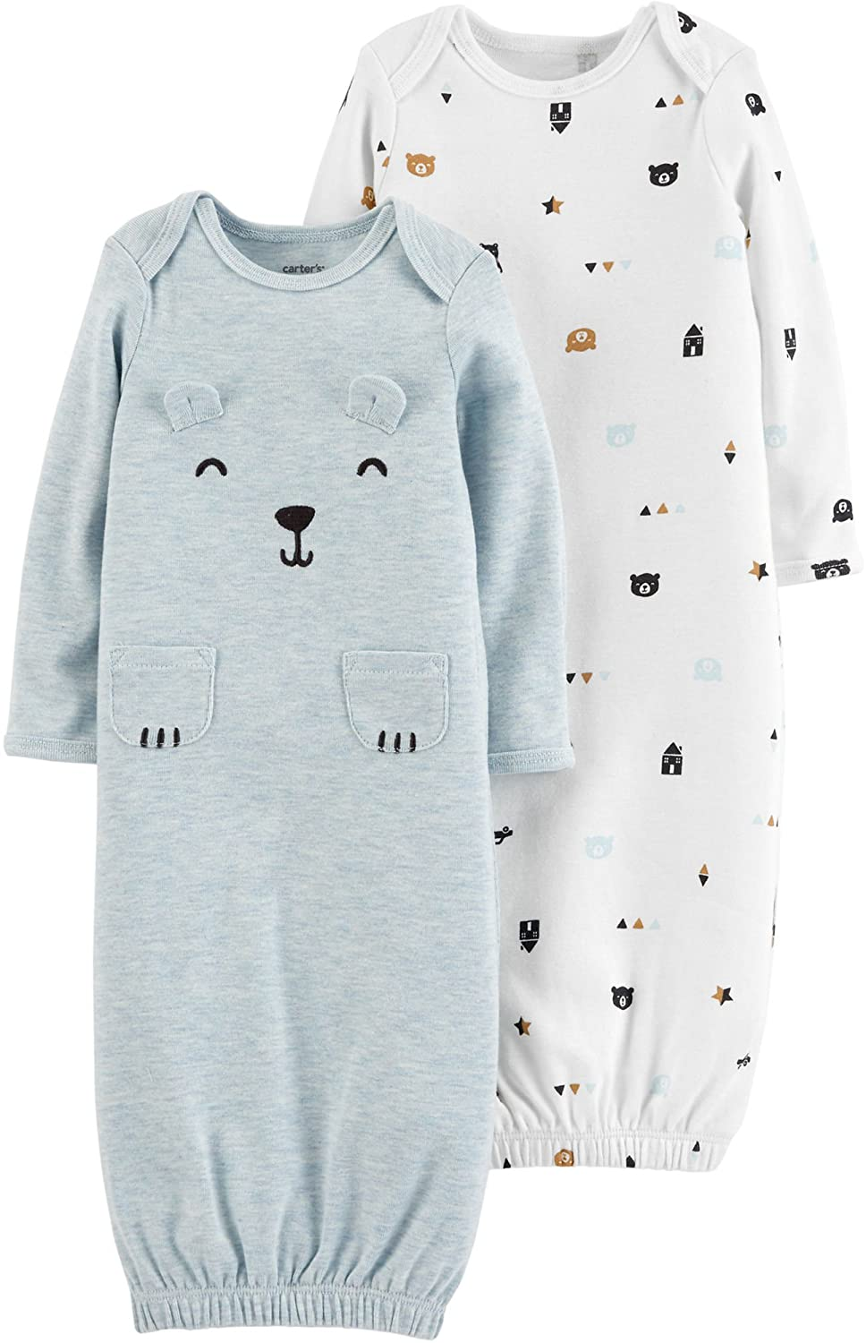 Carter's Baby Boys 2-pk. Bear Sleeper Gowns Carters P000508848
