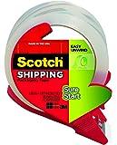 """Scotch 3450SRD Packing Tape, w/Refillable Dispenser, 1-7/8""""x38.2 Yds, CL"""