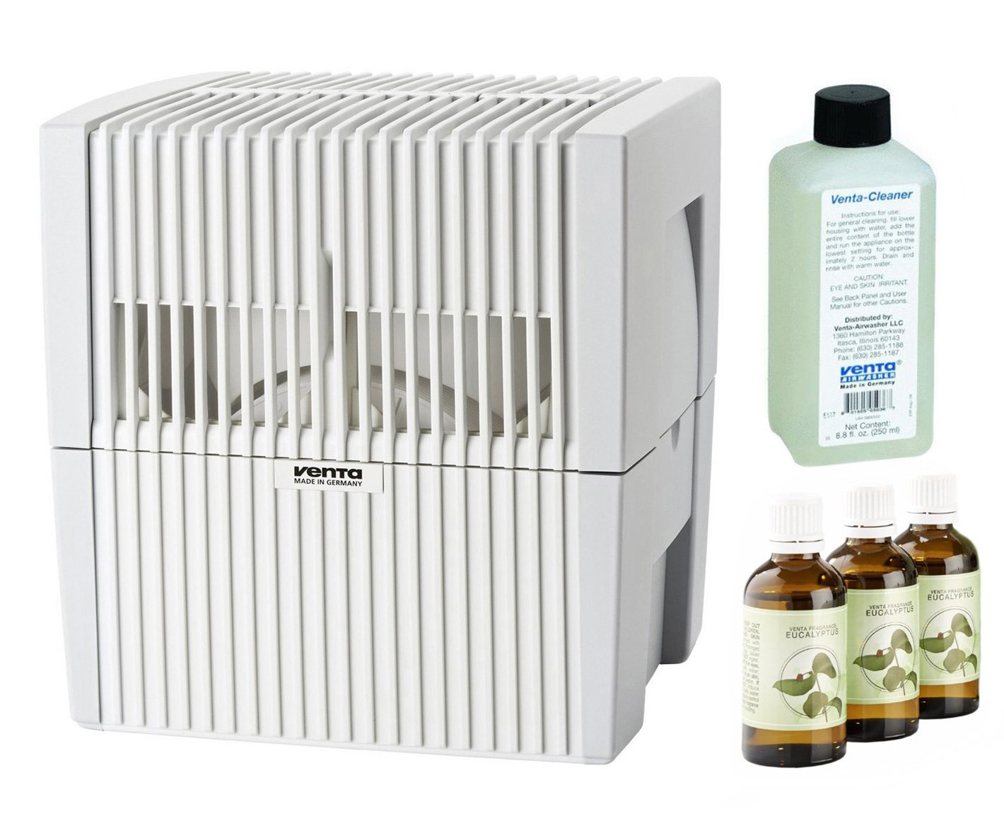 Venta LW25W Humidifier & Airwasher White w/ Fragrance & Cleaning Solution