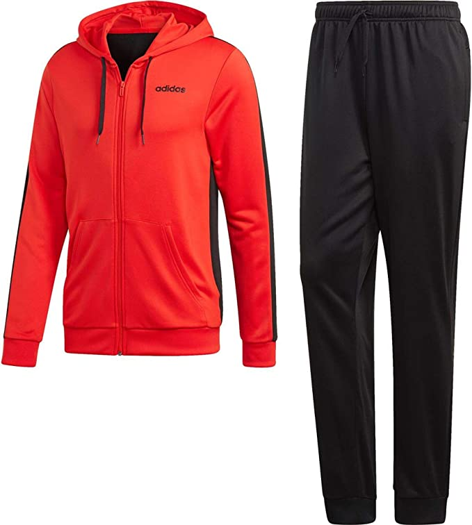 adidas MTS Lin Ft Hood Chandal, Hombre, Rojo, 2XL: Amazon.es: Ropa ...