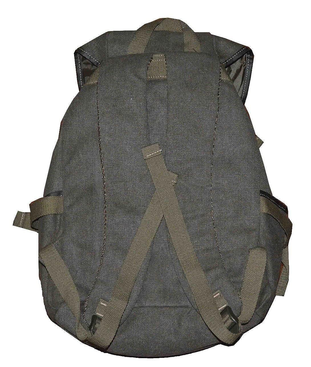 Eurosport Canvas Backpack Bag Olive Green