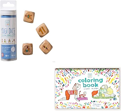 Amazon.com: YOGi FUN Bundle - Juego de dados de yoga y libro ...