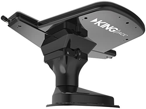 KING 0A8201 Jack HDTV Over-the-Air Antenna with Mount and Built-in Signal Meter