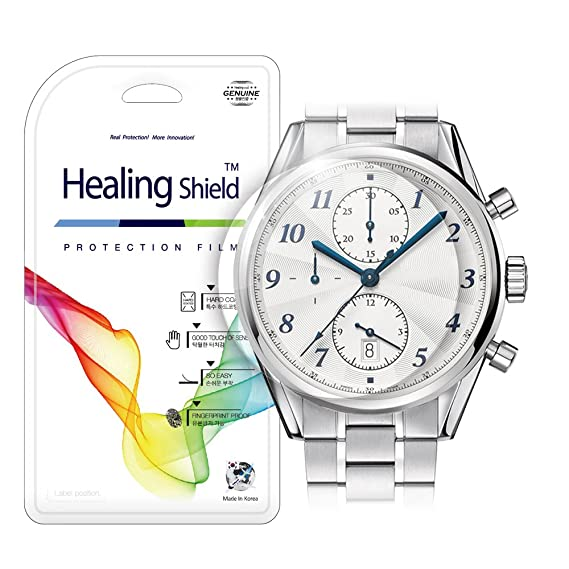 Smartwatch Screen Protector Film 40mm for Round Wrist Watch Healing Shield Analog Watch Glass Screen Protection Film (40mm) [1PACK]