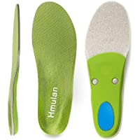 Hmulan Orthotics Insoles Arch Supports Relieve Flat Feet Plantar Fasciitis (Green)