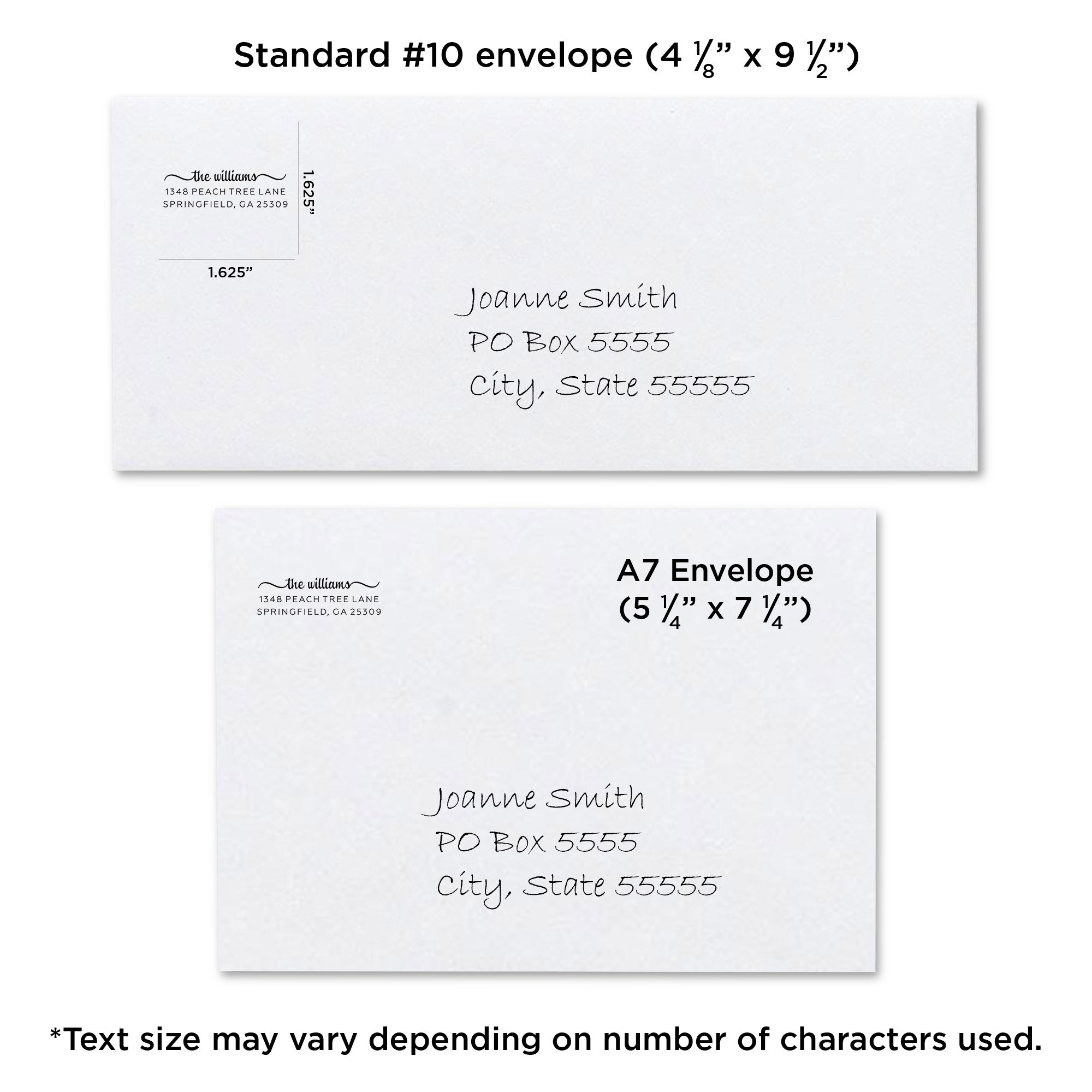 Personalized The Duncans Self-Inking Address Stamp