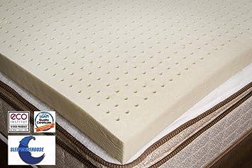 Amazon Com 100 Natural Latex Foam Mattress Toppers 3 Soft Full