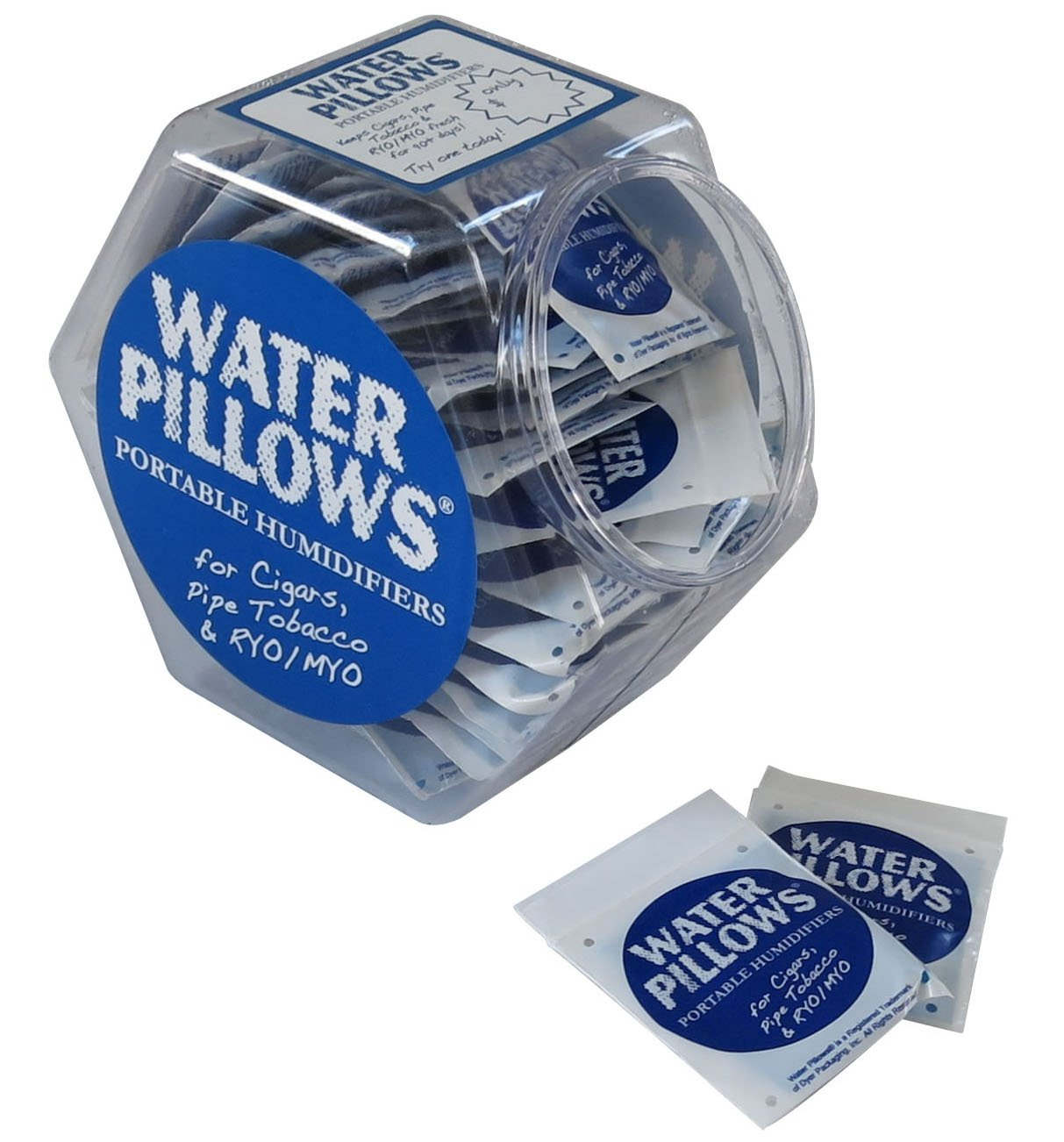 Prestige Import Group - Water Pillows Portable Humidifiers - 75 Pack - Free Counter Display