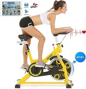 Ancheer Bicicleta de Spinning Bicicleta Estática de Volante de ...