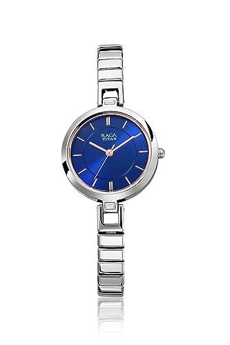 7. Titan Raga Viva Analog Blue Dial Women's Watch