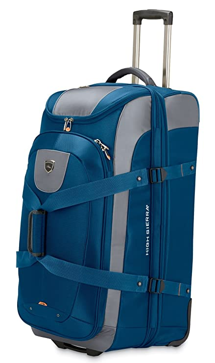Delsey 32 drop bottom rolling duffel