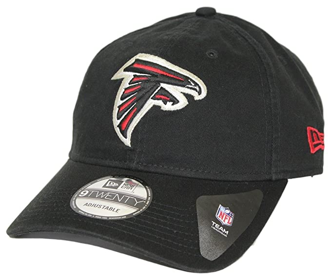 9770068bc New Era Men's Atlanta Falcons 9TWENTY Core Black Hat at Amazon Men's ...