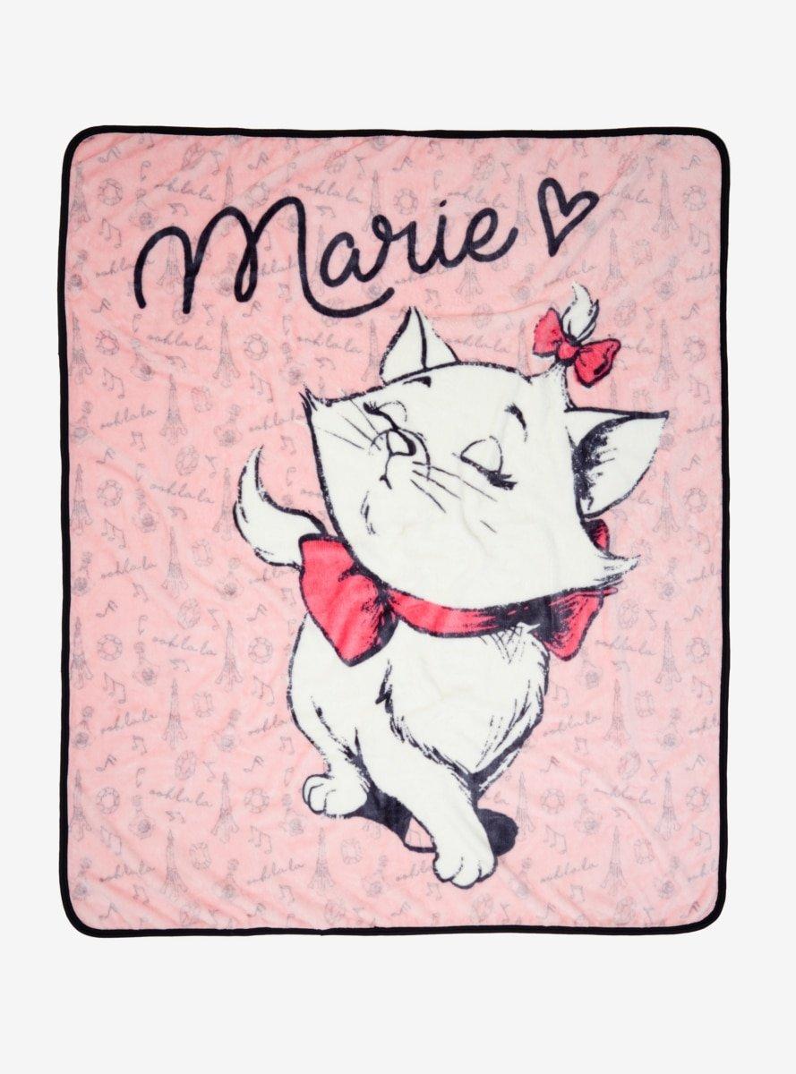 Disney The Aristocats Marie Throw Blanket