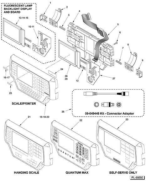 Amazon Com Hobart 00 447645 Hobart Kit Quantum Display 00 447645