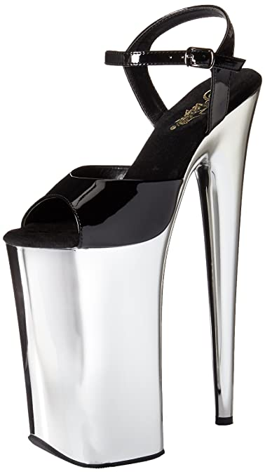 95014a6c705 Pleaser Women's Beyond-009/B/SCH Platform Sandal
