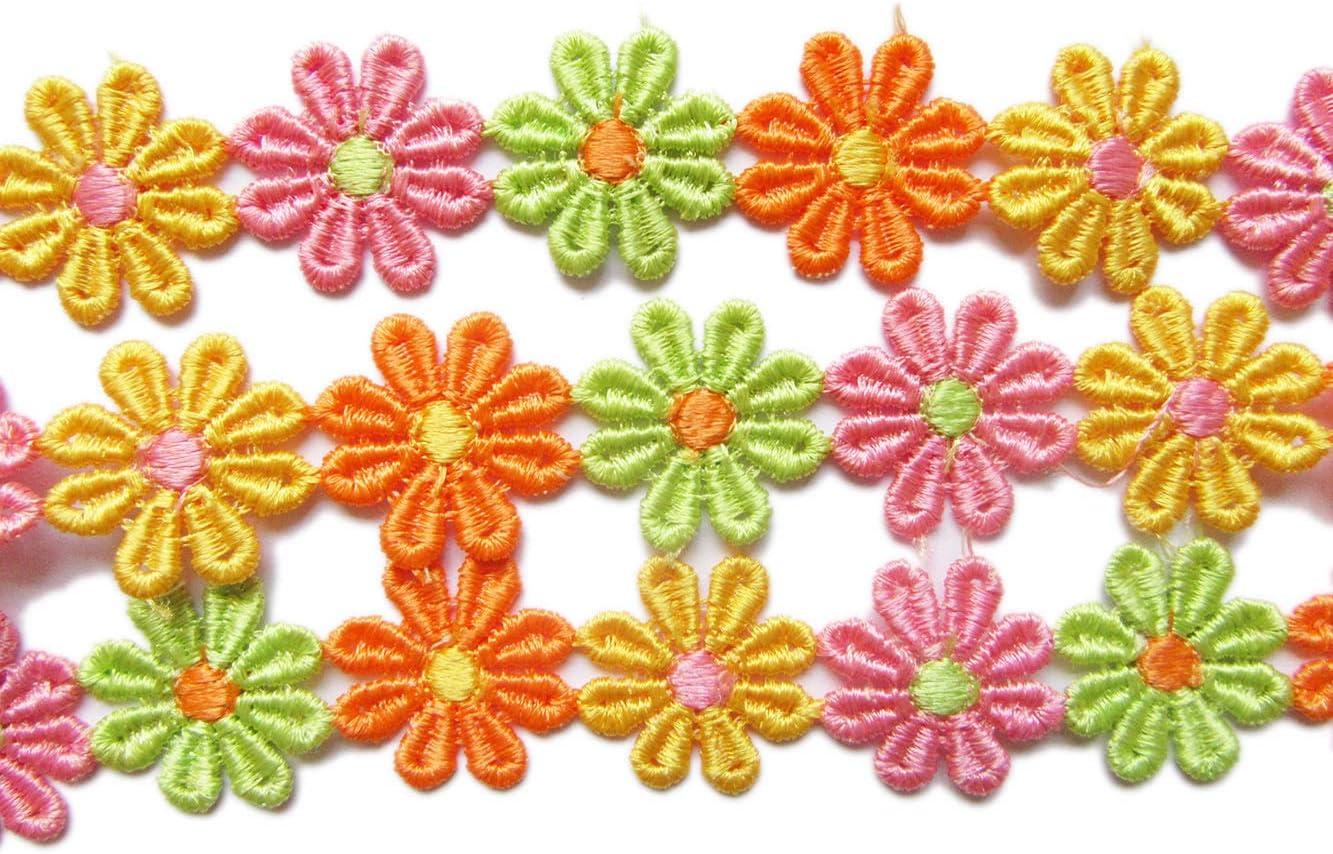 1 yard Multi-Color Trim Fringe Sewing Fabric Craft Supplies Embellishment