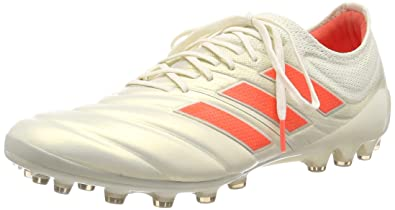 sale retailer 88881 ff7fd adidas Copa 19.1 AG, Chaussures de Football Homme, Mehrfarbig (Off White Solar