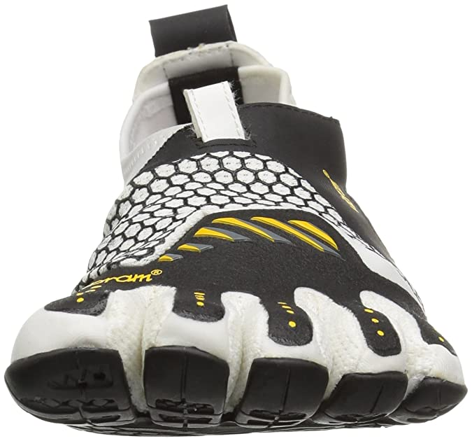 Amazon.com | Vibram Womens Signa Athletic Water Shoe, White/Black, 38 EU/7-7.5 M US | Water Shoes