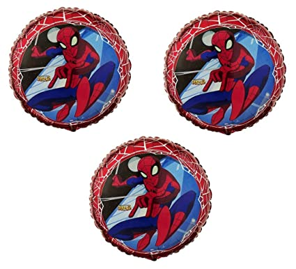 Amazon.com: The Spectacular Spiderman - Globos de papel de ...