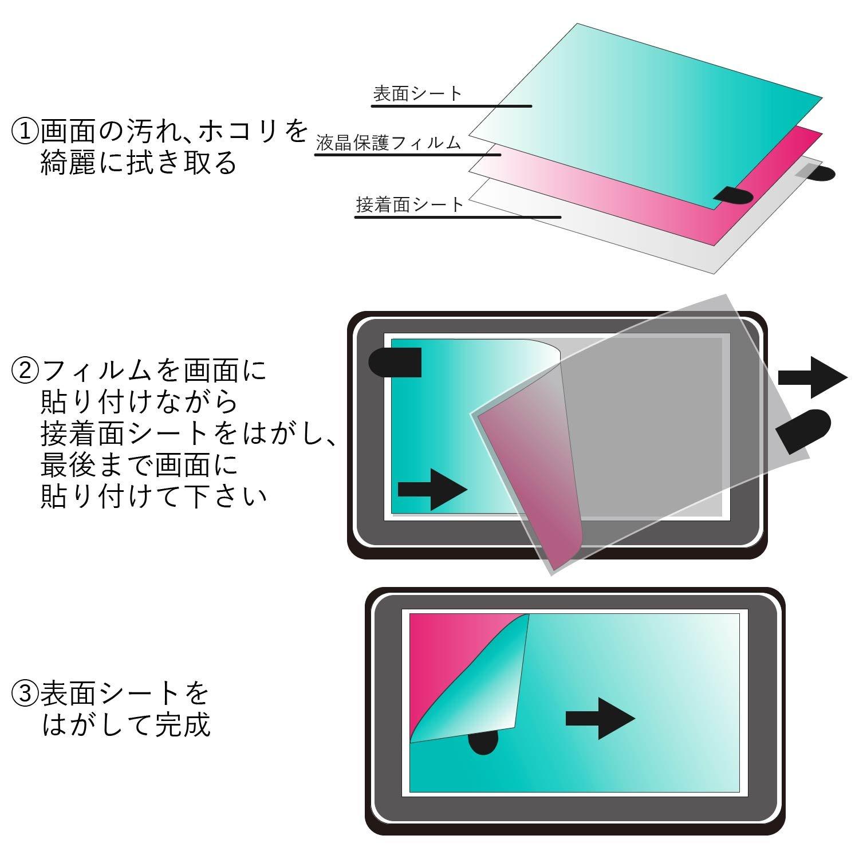 ELECOM electronic dictionary film CASIO XD-K Series DJP-TP027 by ELECOM (ELECOM) (Image #10)