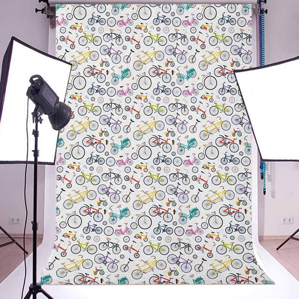 7x10 FT Hedgehog Vinyl Photography Background Backdrops,Cute Little Hedgehog on Autumn Leaves in Forest Scenes from World Background for Selfie Birthday Party Pictures Photo Booth Shoot