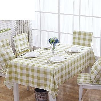 Grun Karierten Tischdecke Picknick Decke Landliche Saubere
