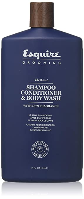 7544a91e7b73 Esquire 3-in-1 Shampoo Conditioner & Body Wash 14 Oz.