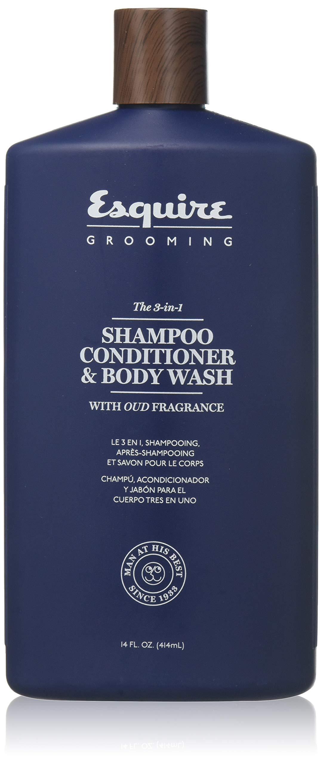 5d0d057b0850 Amazon.com: Esquire 3-in-1 Shampoo Conditioner & Body Wash 14 Oz.: Beauty
