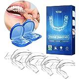 Kit de Protección Dental 4 piezas, Y.F.M Protector Bucal Cuidado Dentadura Ferula Dental Bruxismo Rechinar Dientes…