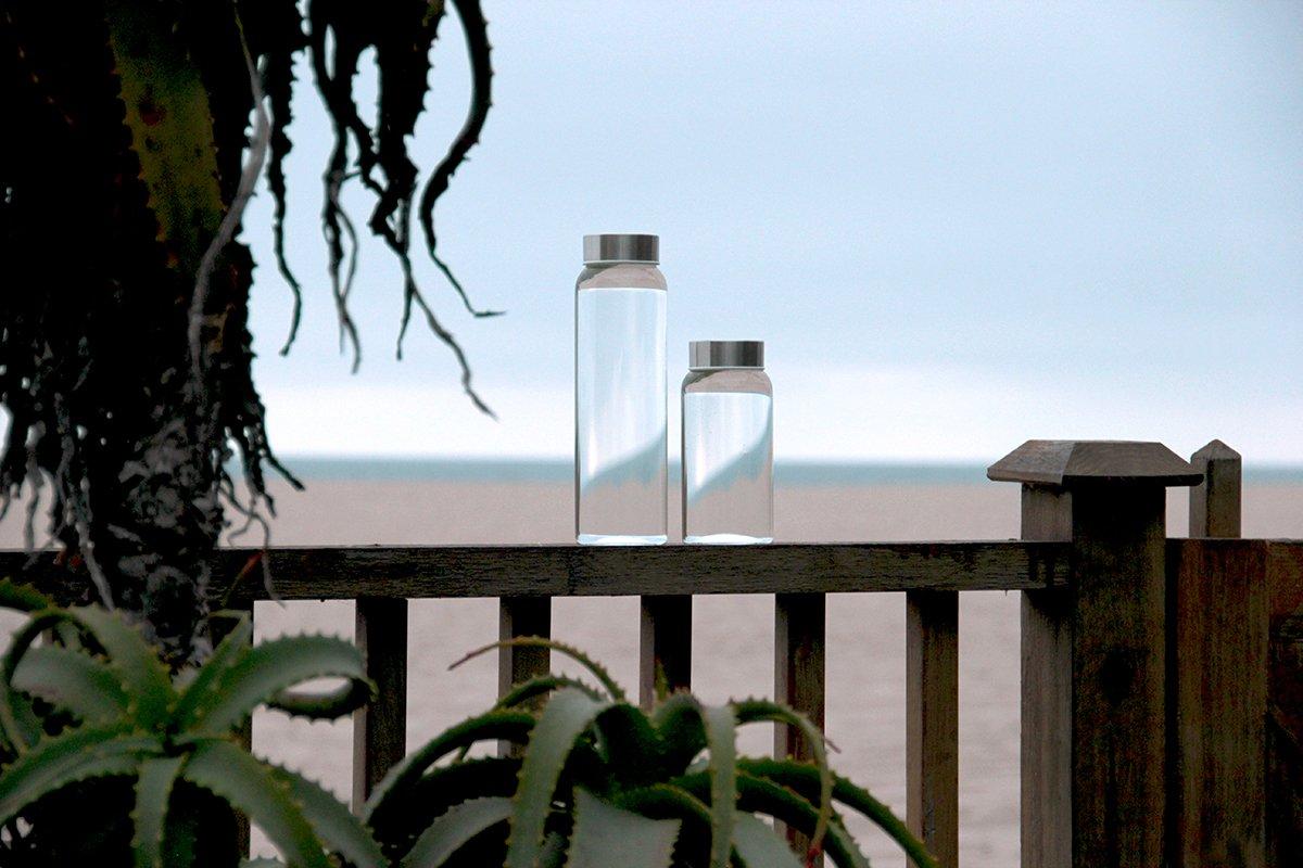 Kablo Glass Water Bottle 32 oz, 100% Borosilicate Glass by Kablo (Image #5)