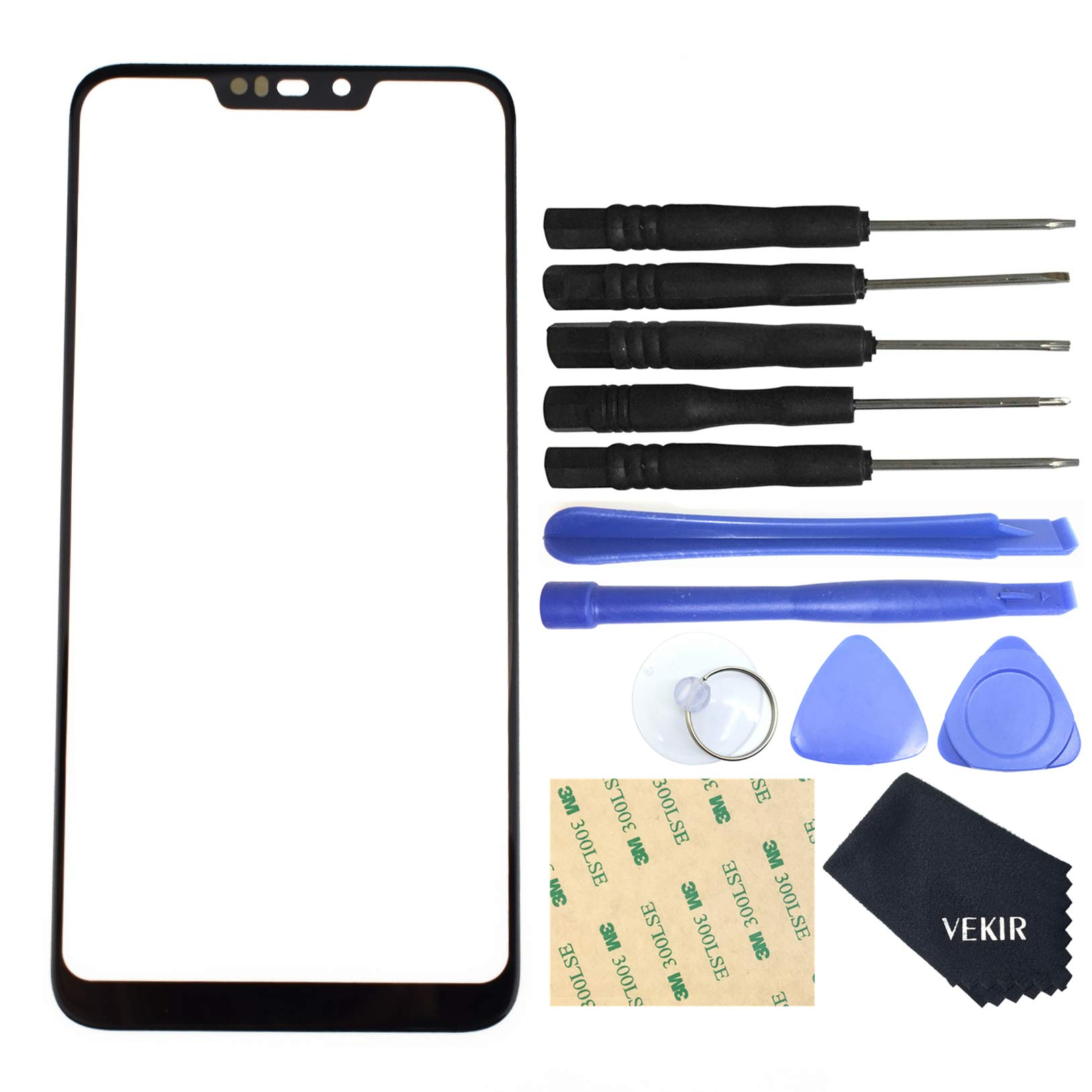 VEKIR LCD Touch Digitizer Display Assembly Screen Replacement for Nokia 2.2 Black by VEKIR