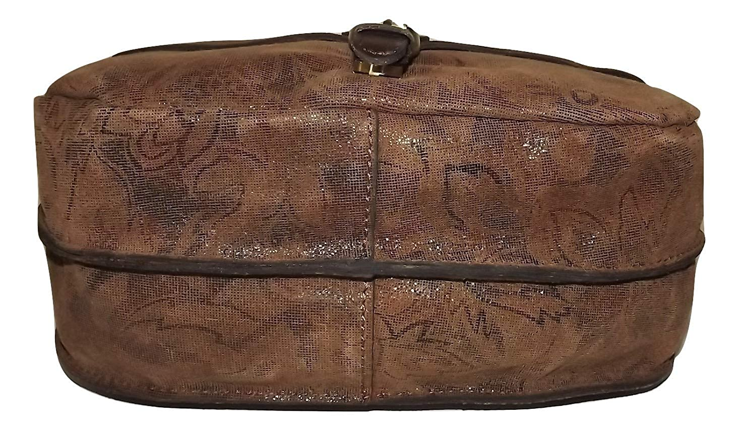 Patricia Nash Womens Tooled Leather Zip Phone Wristlet Wallet Raspberry