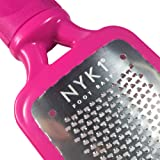 NYK1 GENUINE MEGAFILE Professional Foot File Pedicure Rasp Skin Grater THE ORIGINAL OTHERS ARE NOT THE SAME Super Sharp Extra Large Micro Mega Files UNIQUE to NYK1. Not electronic, no electric required. Remove Calloused Dry Rough Dead Skin for feet in Just Seconds A Perfect Gift or Add on Item for Anyone - In PINK or Black