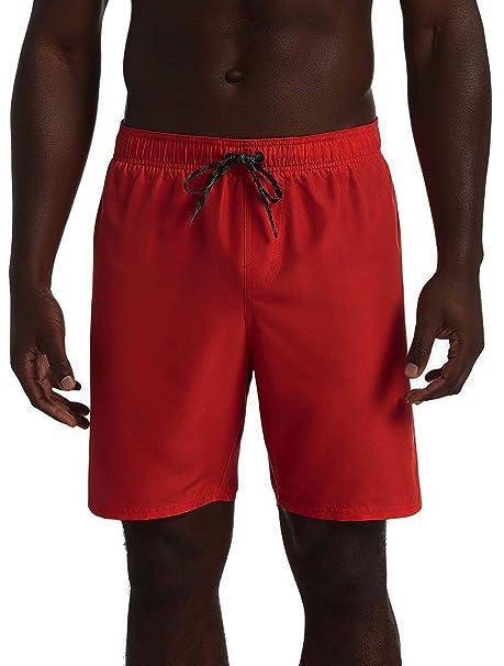 Nike TRAJE DE BANO PARA HOMBRE ROJO NESS9501614: Amazon.es ...