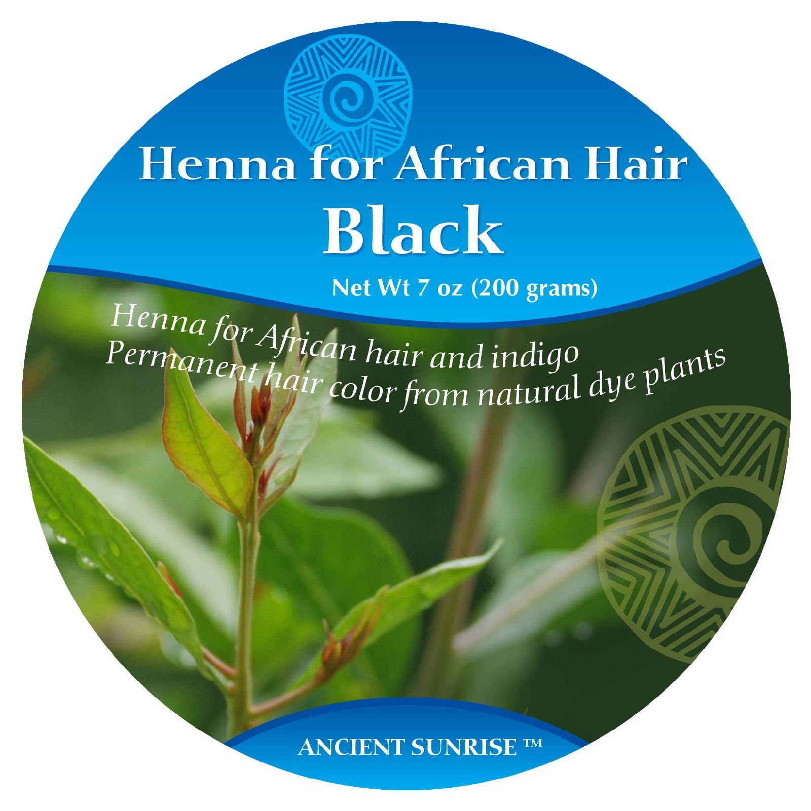 Ancient Sunrise Henna For African Hair Black Kit by Ancient Sunrise