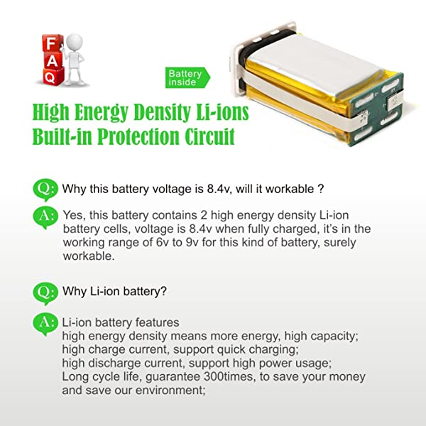 Maxlithium is one of the best li-ion 9v batteries in the market