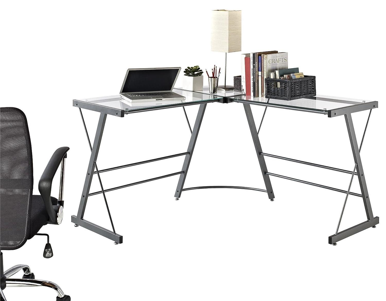 Amazon.com: Ameriwood Home Altra Furniture L Shaped Computer Desk: Kitchen  U0026 Dining