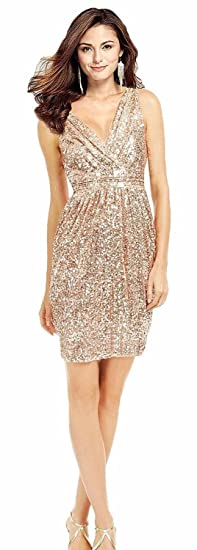 Butmoon Womens Sequin V Neck Prom Dress Long Sexy Plus Size