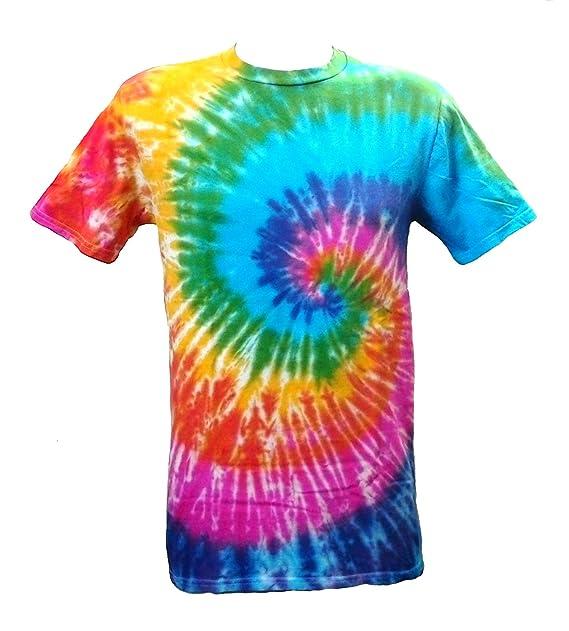 Ácida Modelo Teñido Camiseta 700486 Diseño Espiral De Con qUww4X87