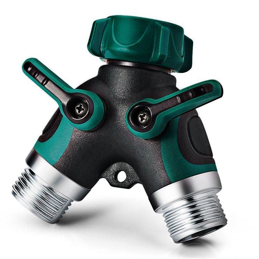 Amazon.com : 2 Way Y Hose Connector, NEX Garden Faucet Splitter ...