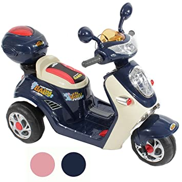 bdee4577c43 Rip-X Ride On Kids Electric Toy Scooter 6V Battery Operated Motorbike - Blue