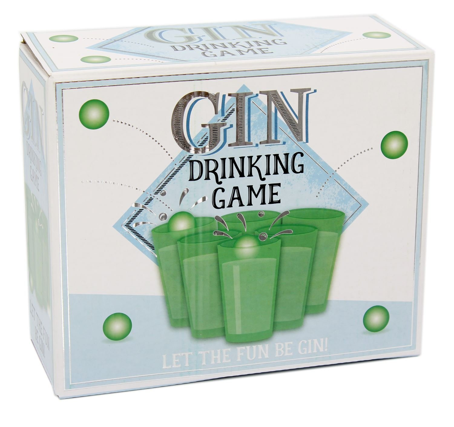 Carousel Toys and Gifts Gin Pong Super Fun Hen Stag Do Office Party Adult Drinking Game