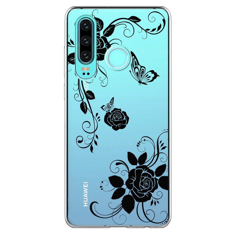 DeirCase 3 Pack H/ülle kompatibel f/ür Huawei P30 Lite H/ülle Ultrad/ünn Gemalt TPU Phone Case Handyh/ülle Schutzh/ülle Silikon Bumper Schutz Tasche Schale Antikratz Backcover*3